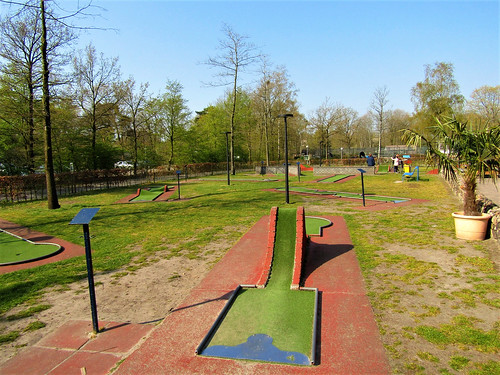 minigolf at Holiday Park Westerbergen in Drenthe