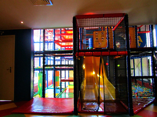 indoor playground at Holiday Park Westerbergen in Drenthe