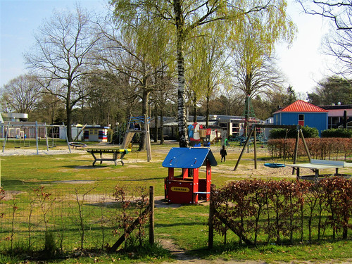 playground at Holiday Park Westerbergen in Drenthe