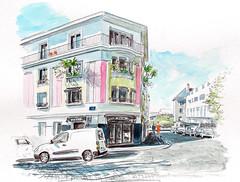 Lorient, rue Waquet