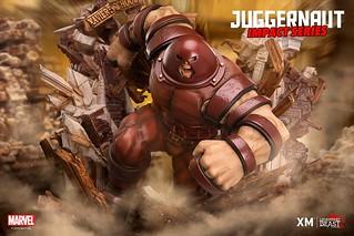 展現出碾壓一切的破壞力! XM Studios Impact Series Marvel Comics【擋不住的紅坦克】The Unstoppable Juggernaut 1/7 比例全身雕像作品