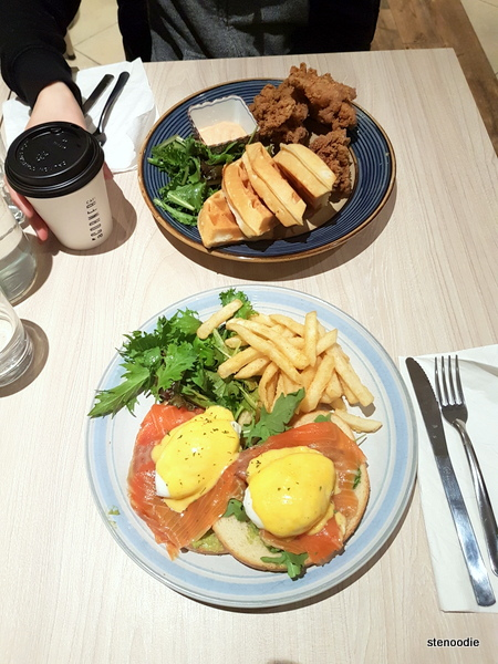 A Corner Cafe brunch