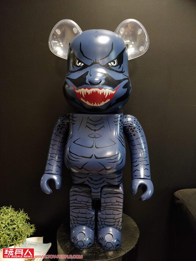 BAIT × MEDICOM TOY《哥吉拉II:怪獸之王》聯名BE@RBRICK 1000% 與100% & 400%套裝組【2019 SDCC 限定】