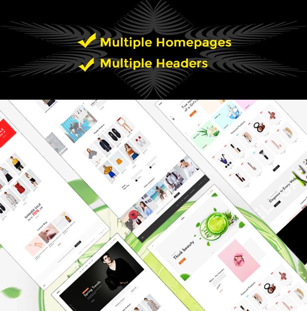 fashion themes 2019 - Multipurpose beautiful hompages