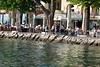 Garda, nach dem anstrengenden Tag ein Spaziergang entlang der Uferpromenade