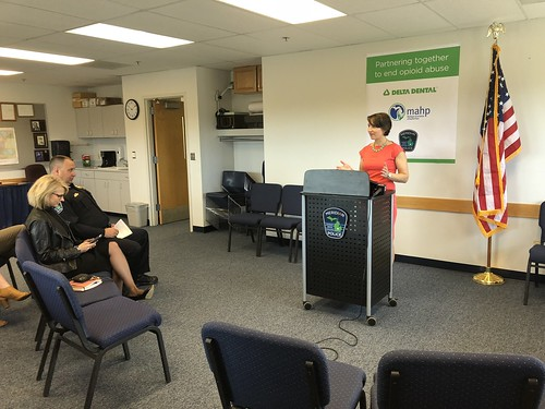 Press Conference Held for Prescription Drug Take-Back Day on Saturday