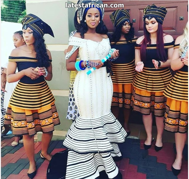 Amazing Xhosa traditional attire for women
