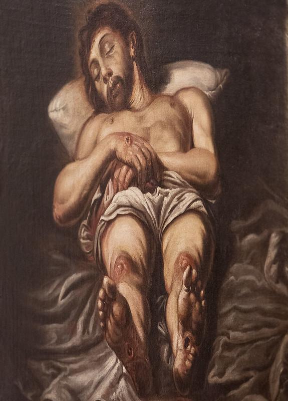 """""""Cristo Yacente"""", de Jerónimo Jacinto Espinosa (Cocentaina, 1600-Valencia, 1667)"""