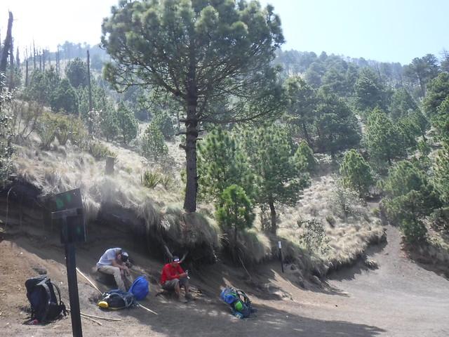 Rest stop Acatenango Hike