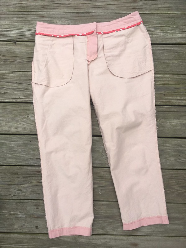 Spring pants!  Simplicity 1696 in Cloud9 Tinted Denim