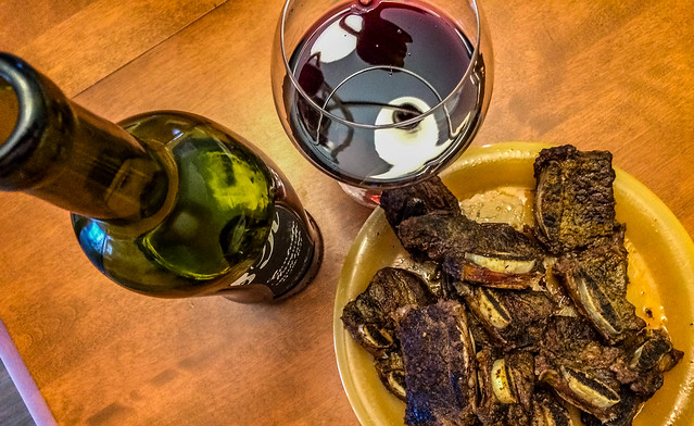 2019 - photo 119 of 365 - short ribs and wine