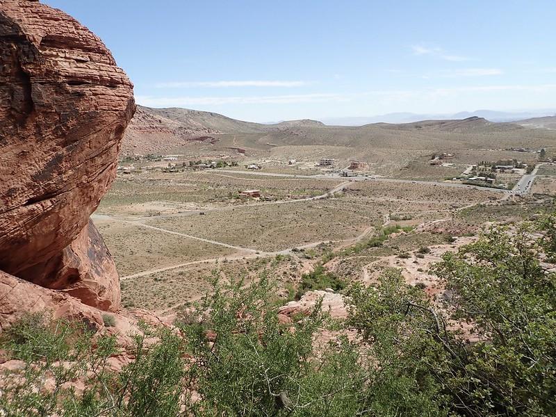 Ausblick von den Calico Hills.