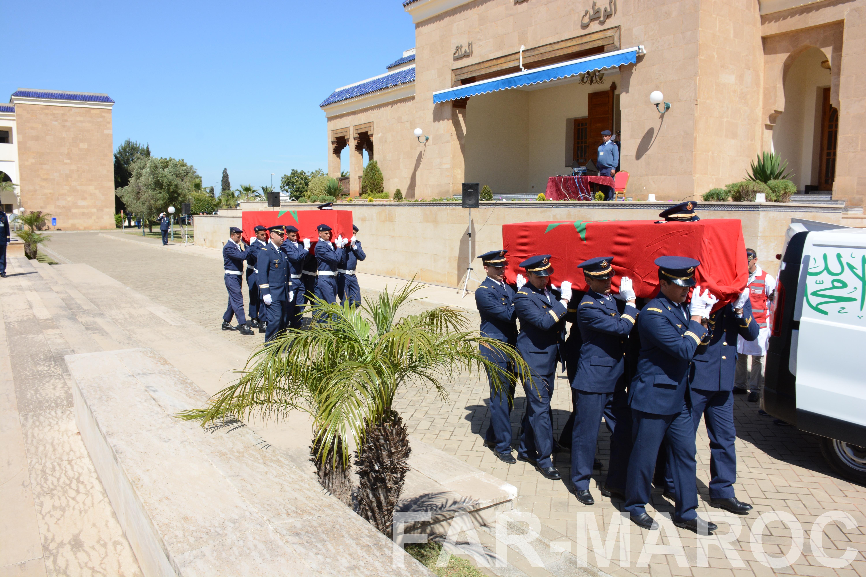 Funérailles de feu le lt colonel Najib El Hadrati et du A/C Hassan Tazi 46948178134_df294b78ab_o