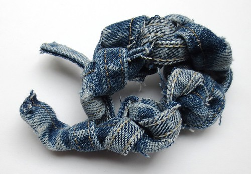 Recycled Denim Dog Toy