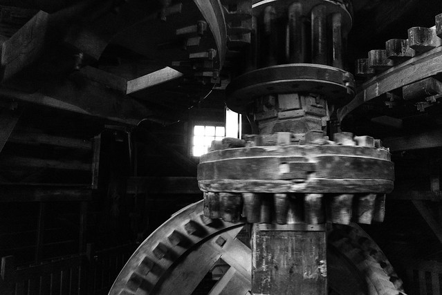 Inside the Pigment Windmill