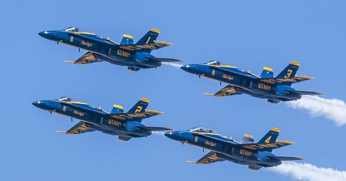 Blue Angels Formation 6