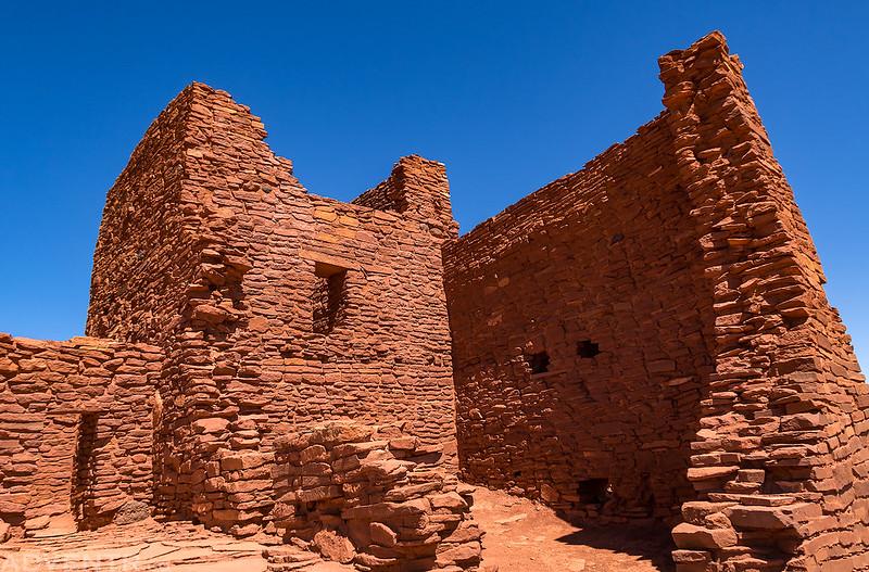 Inside Wukoki Pueblo