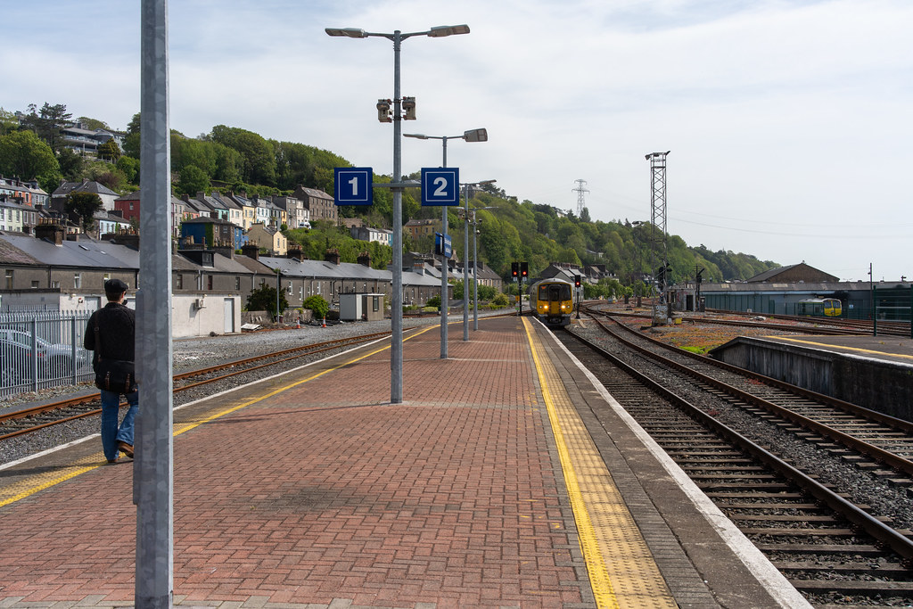 THERE IS A TRAIN EVERY HALF HOUR FROM KENT STATION TO COBH 003