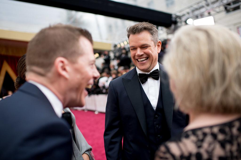 89th Oscars - Matt Damon