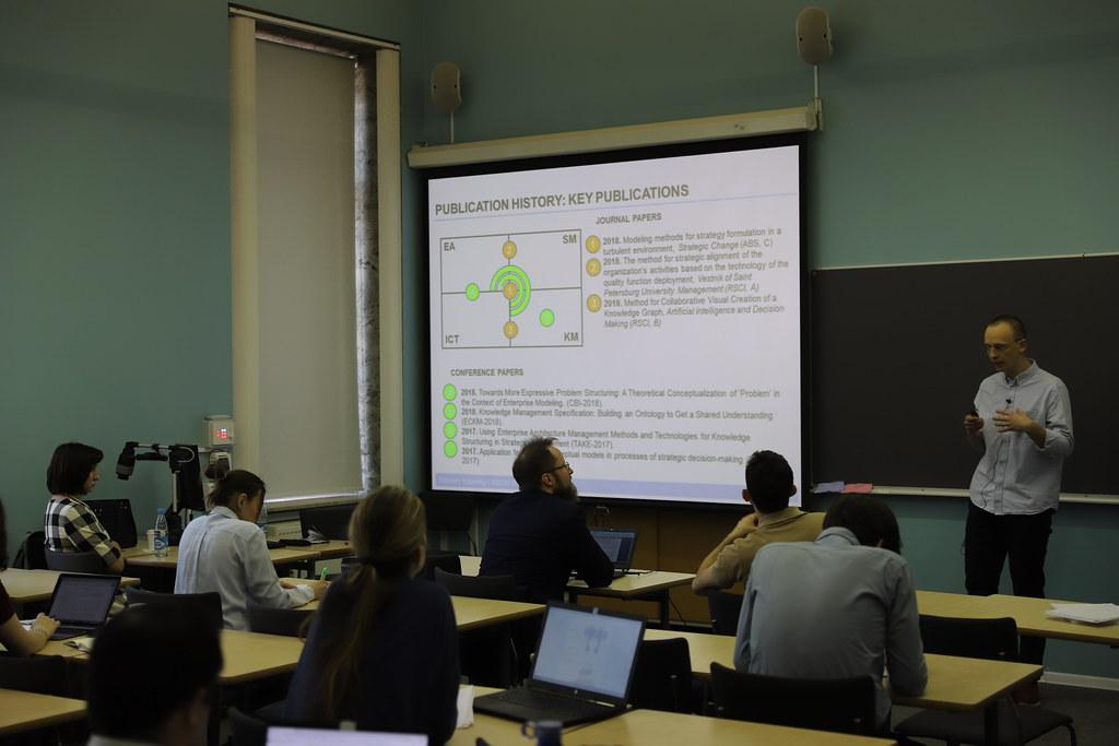 Аспирант Мирослав Кубельский представил результаты своего диссертационного исследования