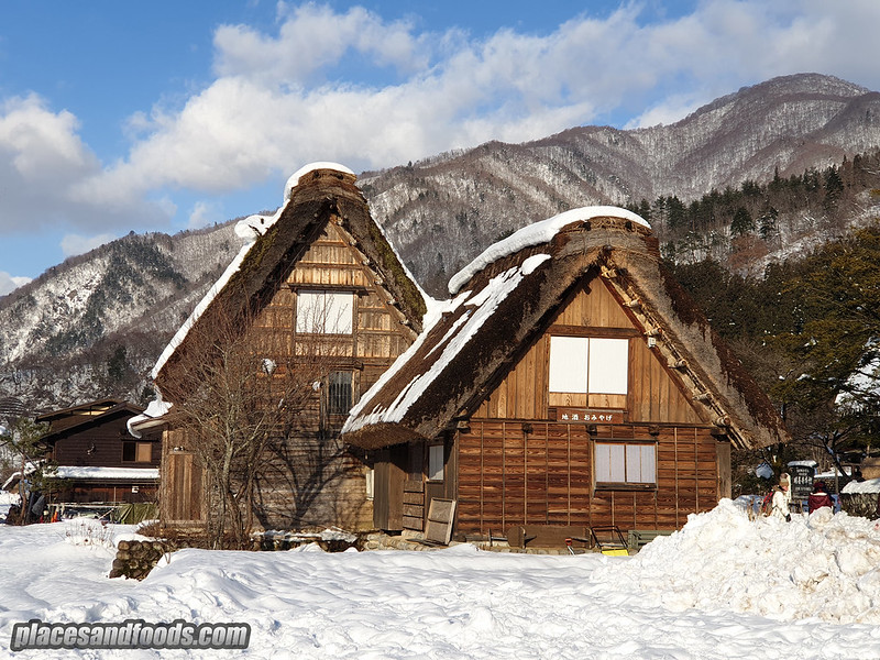 shirakawago triangle house