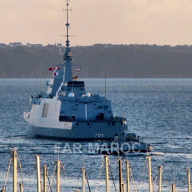 Royal Moroccan Navy FREMM Frigate / FREMM Marocaine - Mohammed VI - Page 13 46952058505_c7e94ce7e5_o