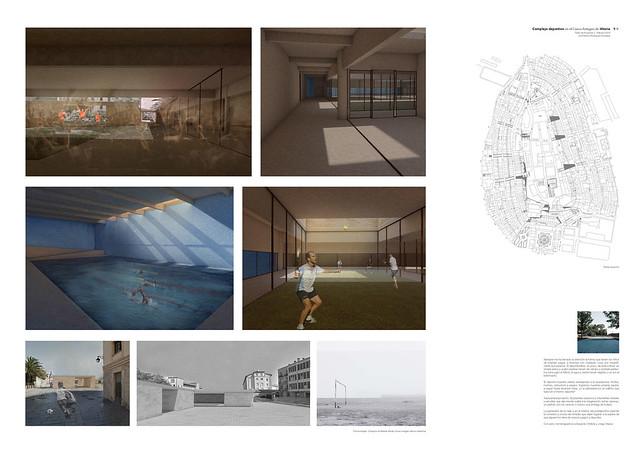 Complejo Deportivo en Vitoria. Taller de Proyectos III. 4º Arquitectura. 2018-19