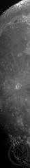 89.1% Waxing Gibbous Moon - Mosaic Crop [2019.05.15]