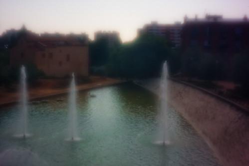 Zone plate. Pinhole-estenopeica. Imagen 5. Parque Central. Barcelona. 17-05-2019