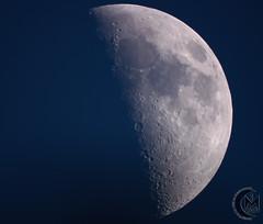 47.5% First Quarter Daytime Moon [2019.05.11]