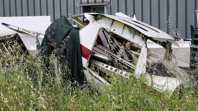 Cessna wreck