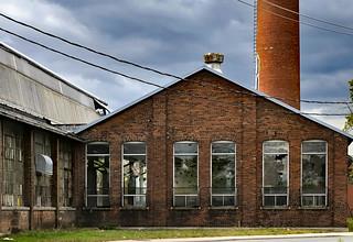 Abandoned steam power plant, Brockton Village, Toronto.