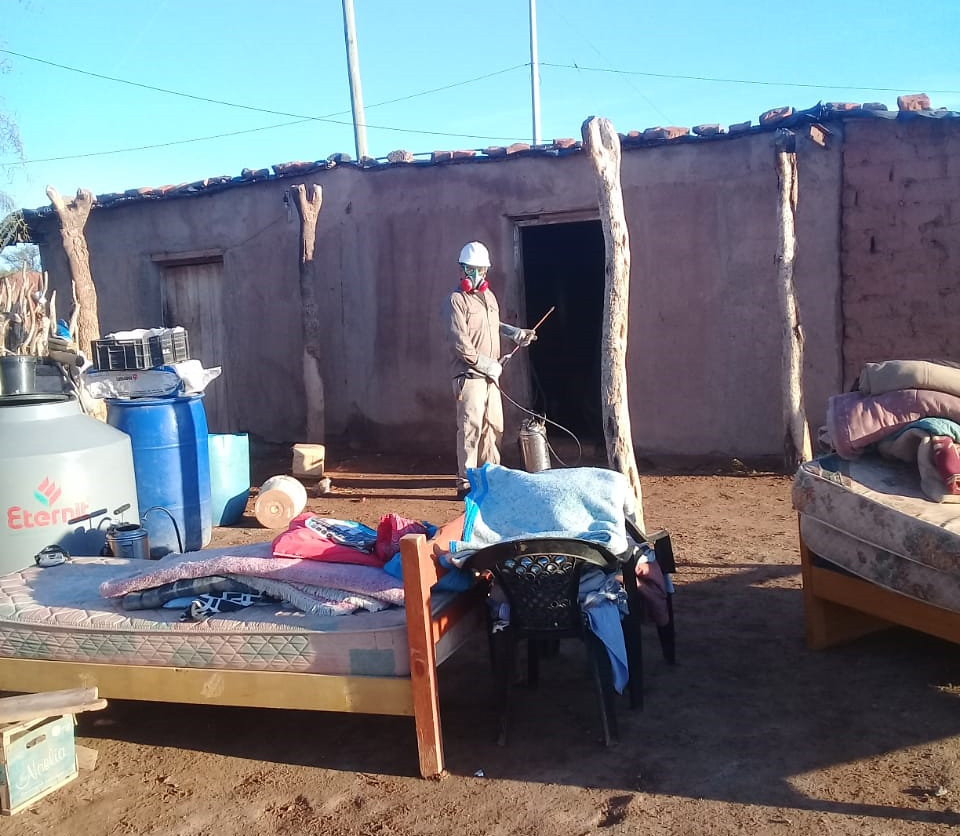 2019-05-17 SALUD: Operativo Chagas Caucete y 25 de Mayo