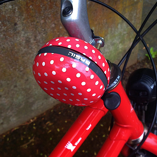 Dotted Swiss Bike Bell