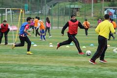 Clinica de fútbol Educación Física