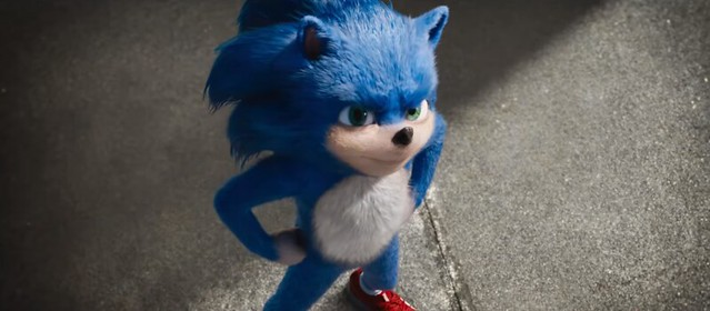 Sonic The Hedgehog - Posing