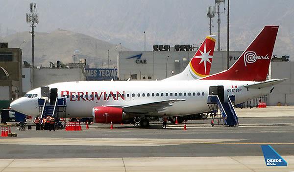 Peruvian B737-500 StarPerú (RD)