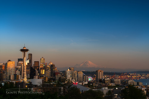 Seattle Mount Rainier