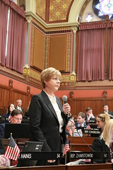 Rep. Zawistowski discusses legislation on the House floor