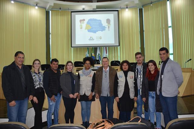 Visitas a municípios do Oeste do Paraná
