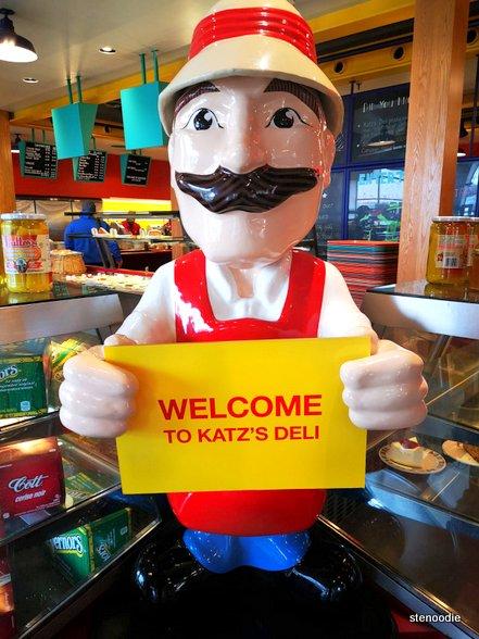 Katz's Deli & Corned Beef Emporium mascot