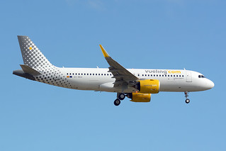VUELING EC-NCU AIRBUS A320 NEO BCN/LEBL