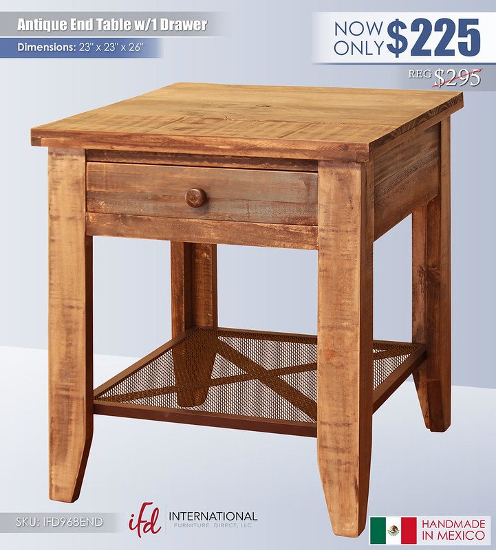 Antique End Table_IFD968END