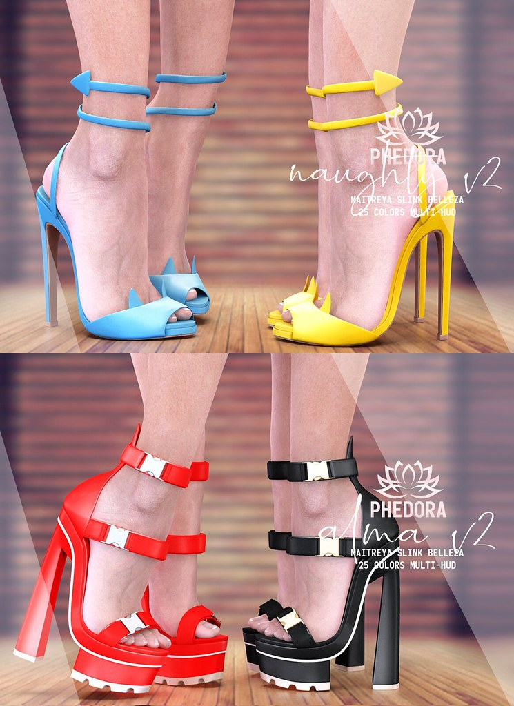 "Phedora. for Fifty Linden Friday – ""Alma"" & ""Naughty"" shoes ♥"