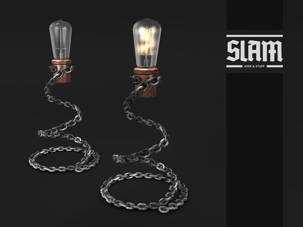 SLAM // chain lamp
