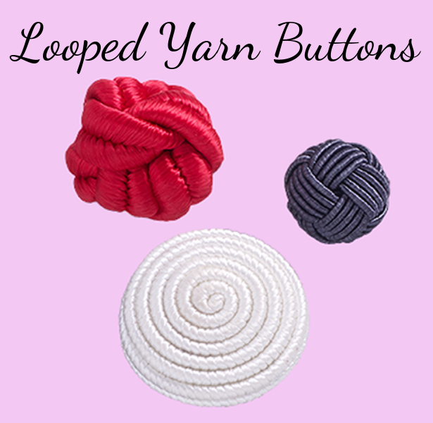 Looped Yarn Buttons