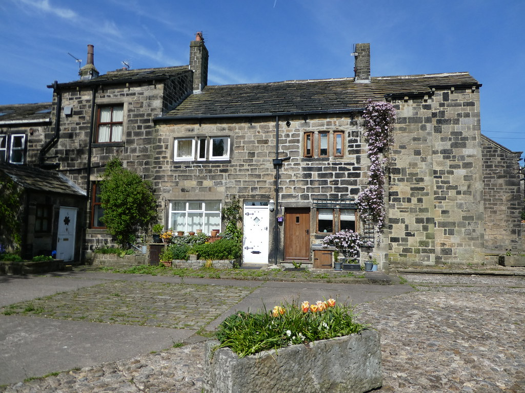Former weavers cottages in Heptonstall