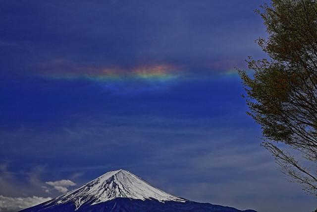 Mt.Fuji at circumhorizon arc