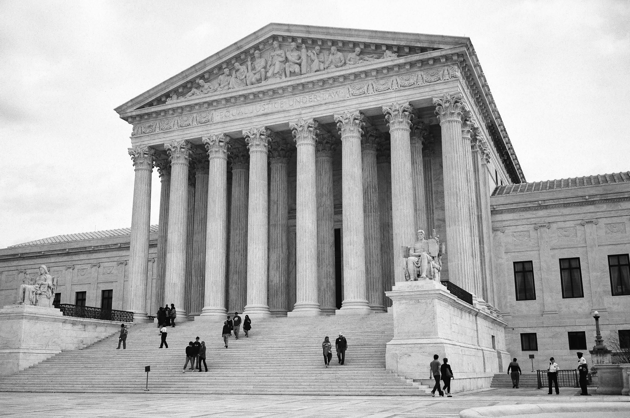 U.S. Supreme Court hears case on partisan court balance