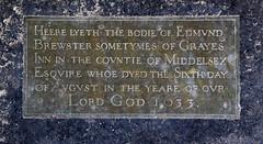 Edmund Brewster, 1633